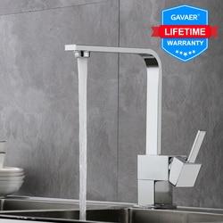 Gavaer Filter Küche Armaturen Heißer und kalten Reinem Wasser Waschbecken Wasserhahn Einzigen Loch Swivel Küche 360 Grad Biegen Wasser Mischer armaturen
