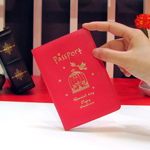 Cover Travel-Accessories Credit-Card-Holder Passport New ID The on PU Men Unisex Women
