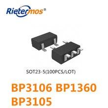 100 Uds SOT23 5 BP3106 BP1360 BP3105 de alta calidad