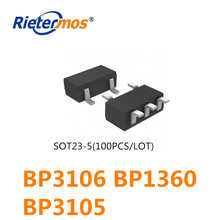 100PCS SOT23 5 BP3106 BP1360 BP3105 คุณภาพสูง
