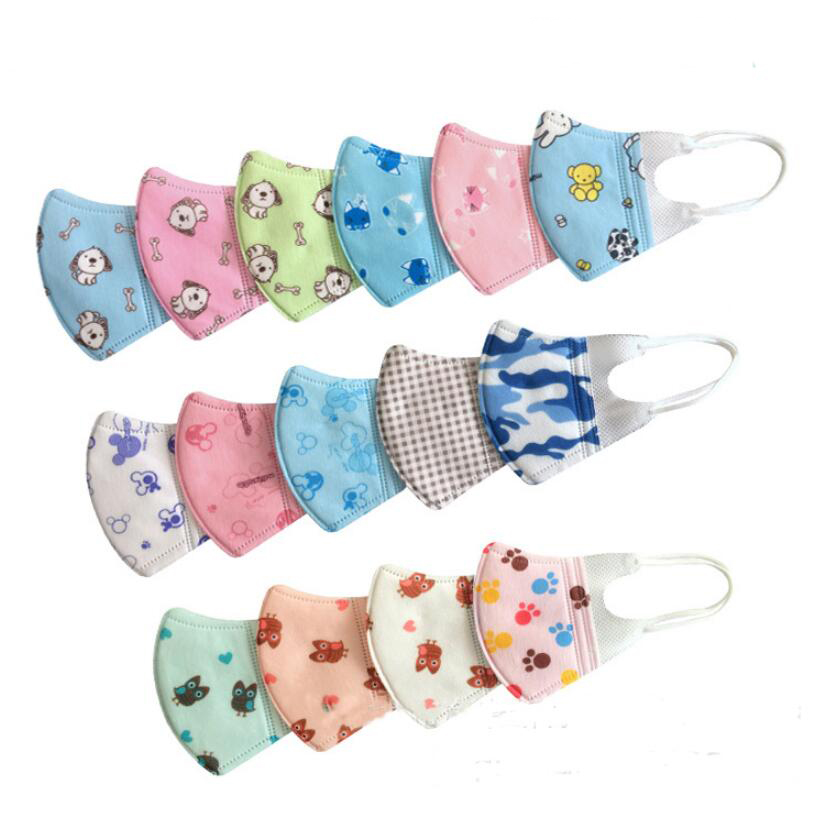 10pcs PM2.5 Children Disposable Mask Face Mask Mouth Mask Anti Exhaust Dust Sun Block 3 ~ 12 Years Nonwoven Mask