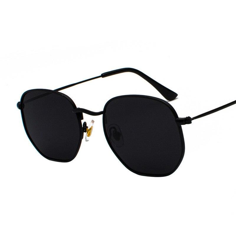 Retro Vintage Mirrored Metal Frame Pilot Sunglasses Outdoor Glasses Eyewear