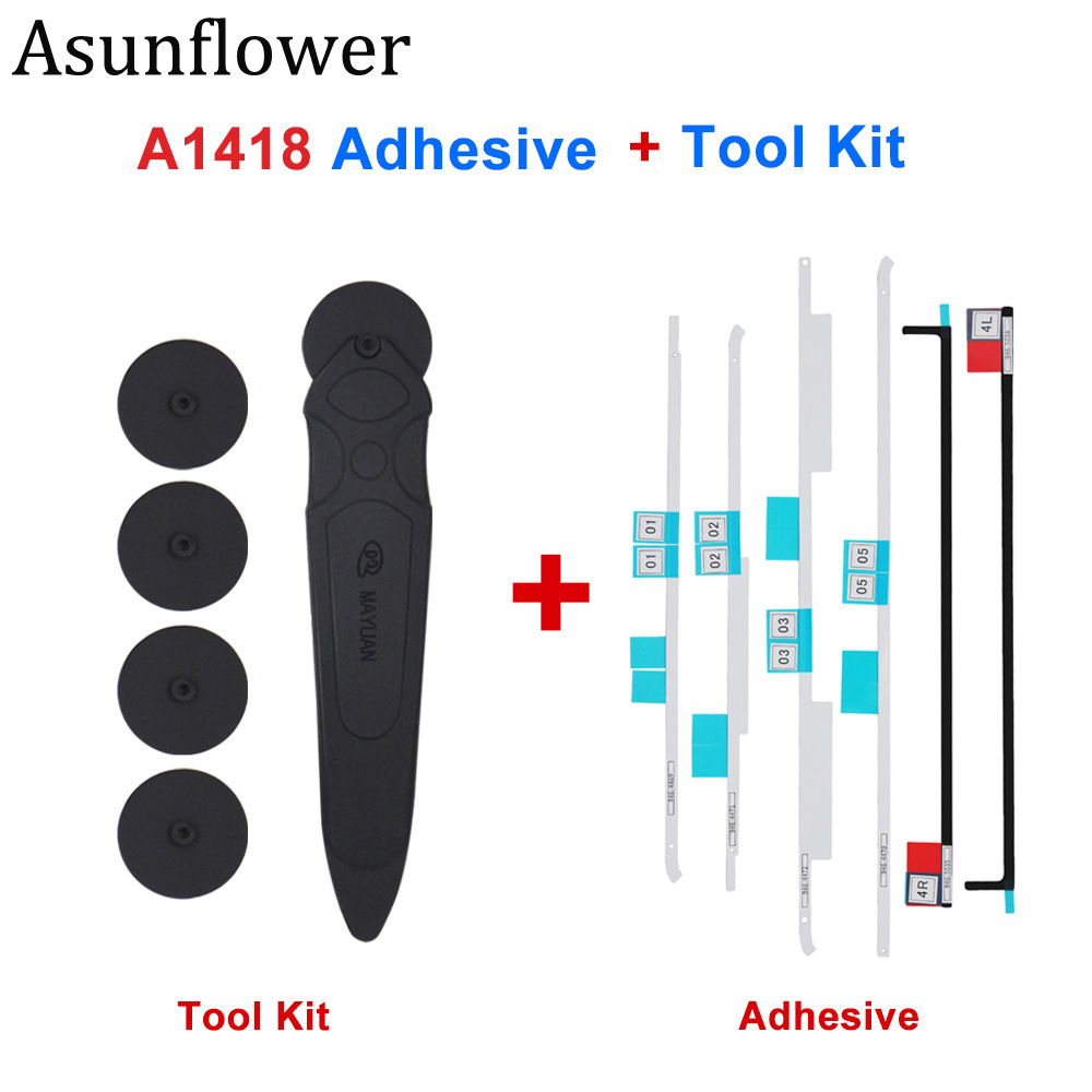 Atournesol LCD bandes adhésives ruban ouverture outils Kit ouverture roue pour iMac A1418 A1419 écran affichage autocollants colle adhésive
