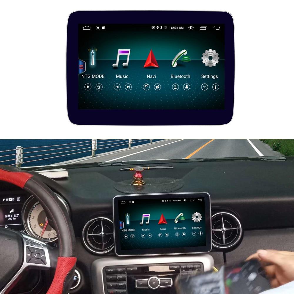 Pantalla Android de 8,4 pulgadas 4 + 64G para Mercedes Benz SLK Class R172 2011-2015 Pantalla de Radio de coche navegación GPS pantalla táctil Bluetooth