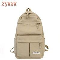 Women Fashion Canvas School Bags For Girls Backpack Bookbags For Teenagers Backpacks Bookbag Designer Back Pack Bagpack