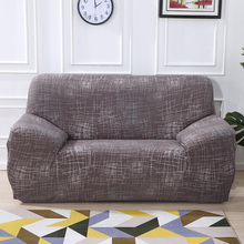 Elastic Sofa Cover Stretch Slipcover Couch Protector/ Chair Cover Sofa Covers Furniture Protector Polyester Loves stretch couch slipcover brown polyester rib knit fabric