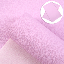 30*140cm Solid Color Lychee Grain Faux Leather Sheets Synthetic Leather Vinyl Fabric Roll For DIY Crafts Earrings,1Yc16788