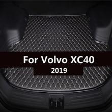 Tapis de coffre de voiture pour Volvo XC40 2019, doublure de chargement, couverture d'accessoires d'intérieur