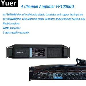 Image 1 - 4 ערוץ מגבר FP10000Q קו מערך מגבר NEUTRIK מחברים fp10000q קו מערך מקצועי קול קו מגבר