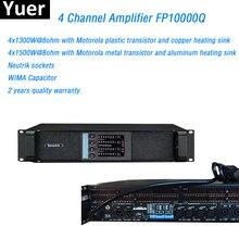 Linha amplificador de 4 canais fp10000q linha matriz amplificador neutrik conectores fp10000q linha matriz amplificador de potência de som profissional