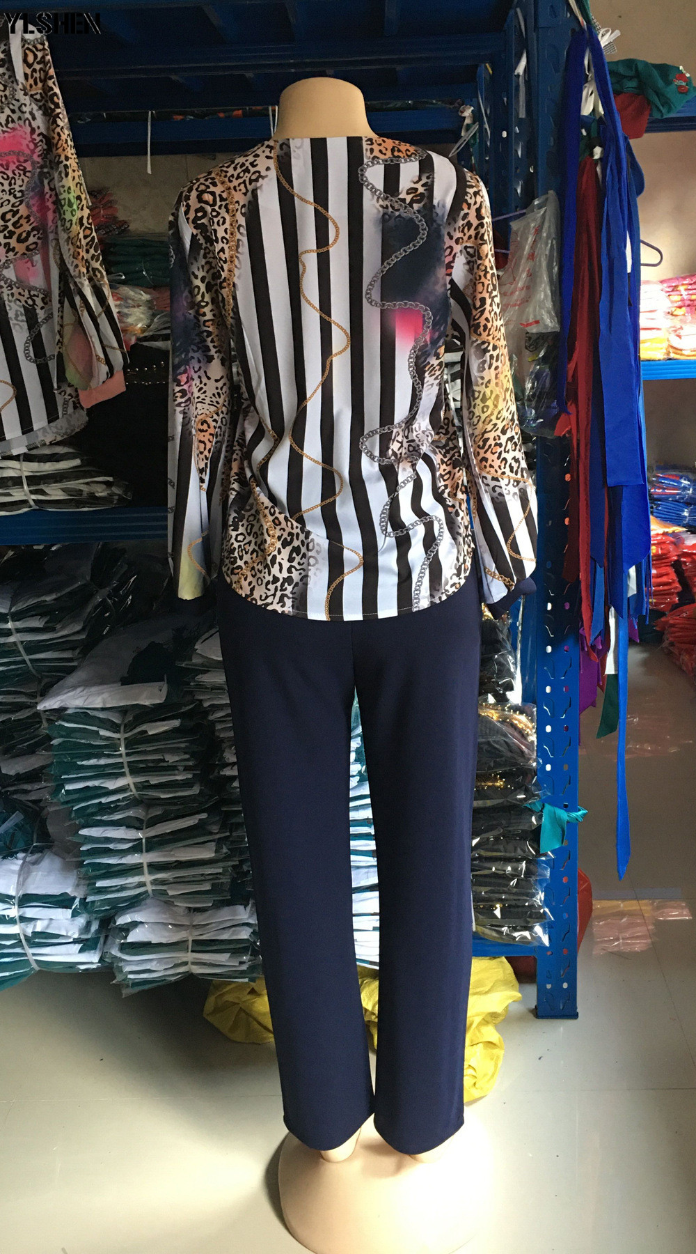 Two 2 Piece Set African Clothes Africa 2020 Dashiki Fashion Print Dresses Suit Bazin Top Pants Elastic Party Plus Size Clothing 15