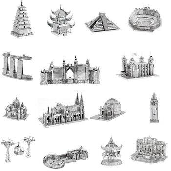 Architecture 3D Metal Puzzles World  1