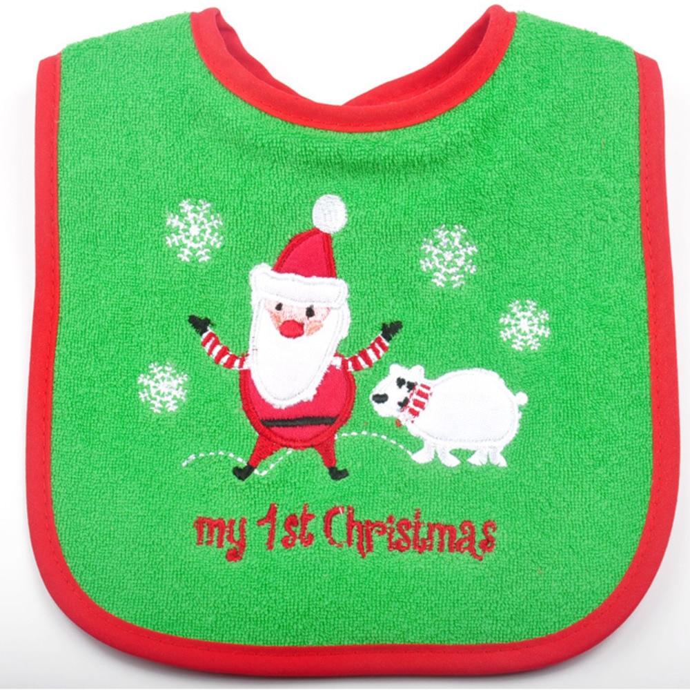 Child Supplies Cotton Three-layer Waterproof Baby Cartoon Bib Baby Tie Bib MU