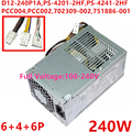 Nieuwe PSU Voor HP ProDesk 600 800 G1 SFF Voeding D12-240P1A D12-240P2A PS-4201-2HF PS-4241-2HF PCC004 PCC002 702309-002