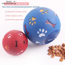 Cão de estimação brinquedos estiramento vazamento comida bola cão kong interativa mastigar treinamento brinquedo dente bolas de limpeza para filhote de cachorro brinquedos produtos para animais de estimação
