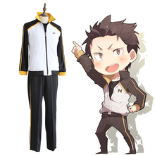 Anime Re ZERO Starting Life In Another World Cosplay Costumes Subaru Natsuki Zero Kara Hajimeru Isekai Seikatsu