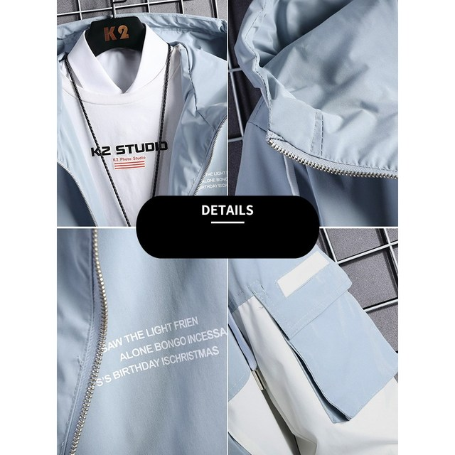 2020 spring and autumn clothes Men Jacket Size 3XL  2