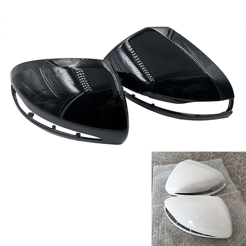 Car Rear View Mirror Cover For <font><b>Mercedes</b></font>-Benz C <font><b>Class</b></font> W205 2015-2019 E <font><b>Class</b></font> W213 2016-2019 <font><b>S</b></font> <font><b>Class</b></font> <font><b>W222</b></font> 2014-2019 GLC X253 image