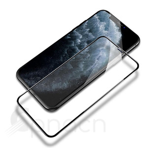 Image 3 - 100D Tempered Glass on the For iPhone X 7 8 6 6S Plus Screen Protector Full Cover Protective Glass iPhone XR XS 11 Pro Max Film