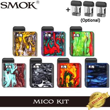Oryginalny zestaw SMOK MICO z 700mAh baterią Mico 10-26W MICO MOD do elektronicznego papierosa Vape 1 7ml kaseta Pod siatką MTL Vaping tanie i dobre opinie Z Baterią Box Shape None Metal SMOK MICO Kit Electronic Cigarette Vape 700 mAh Wbudowany 56 3 x 46 5 x 14 8mm 0 6-2ohm