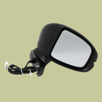 beler 5 Wire Black Right Passenger Side Rearview Wing Mirror Car Accessories Fit For Honda Fit Jazz GK5 2014 2016 2017 2018 2019