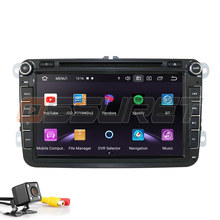 2Din Android10 Car Radio Stereo Player For Volkswagen VW Passat B6 Golf Tiguan Caddy Polo Beetle Jetta GPS Navi DVD WIFI SWC IPS