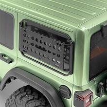 1 para metalowa boczna szyba wyposażenie stojak rama samochodu dla AXIAL SCX10 III Jeep JL Wrangler zdalnie sterowany Model samochodu akcesoria