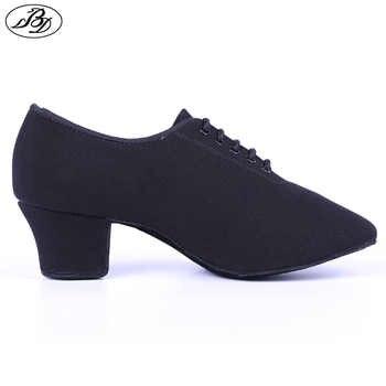 Dancesport Shoe BD Dance T1 Women Teaching Dance Shoes Canvas Ladies Dancing Shoes Ballroom Standard Shoes - DISCOUNT ITEM  29% OFF All Category