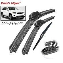 Erick der Wischer Vorne und Hinten Wischer Blades Set Kit Für Jeep Grand Cherokee WK2 2013 - 2020 Windschutzscheibe Windschutz fenster 22