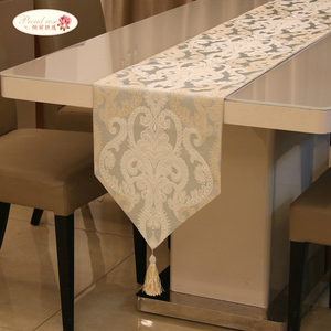 Image 4 - Proud Rose American Embroidery Table Flag Table Runner Table Cloth European Tablecloth Bed Napkin Fashion Home Decor Table Flags