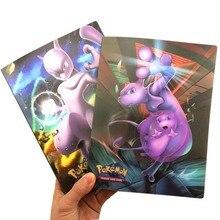 23 стиля карт альбом книга мультфильм аниме Покемоны коллекция карт книга 240 шт держатель альбомная игрушка для детей подарок