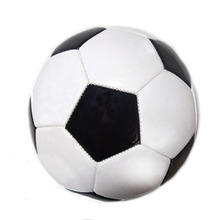 New classic black and white football pvc futbol for indoor and outdoor training standards   sports game No. 5 soccer ball