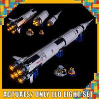 Led Light Up Kit For Ideas Apollo Saturn V Building Building Block Light Set Compatible With 21309 (NOT Include Model)