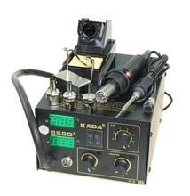 KADA 852D+ KADA852D+ Rework Welder Station SMT Hot Air Soldering Iron SMD Solder Station DHL Cheap 220v /110V Free shipping стоимость