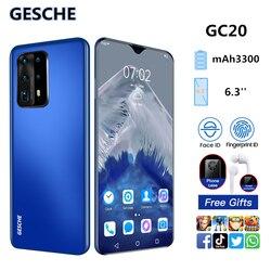 GESCHE GC20 2GB+16GB AI Mode Triple Camera Smartphone 6.3