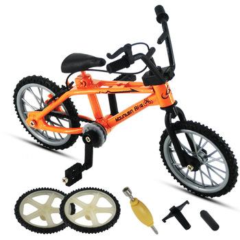 2019 doskonała jakość Bmx zabawki Alloy Finger BMX funkcjonalny rower dziecięcy pełne rowerowe Bmx zestaw rowerowy zabawki dla chłopców tanie i dobre opinie Metal WJ336 11CM Finger rowery 5-7 lat 8-11 lat 12-15 lat Dorośli