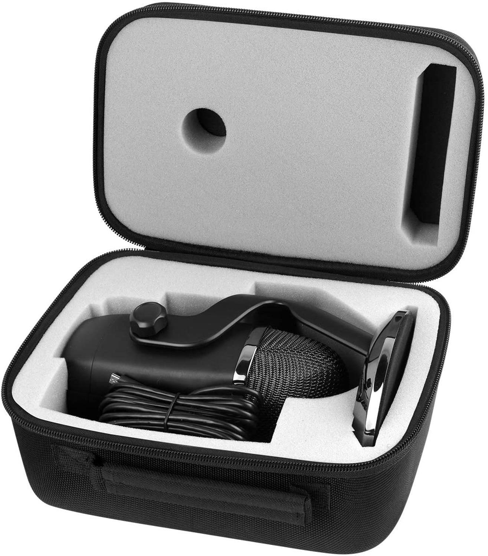 Чехол для Blue Yeti USB микрофон/Yeti Pro/Yeti X, также подходит для кабеля и других аксессуаров