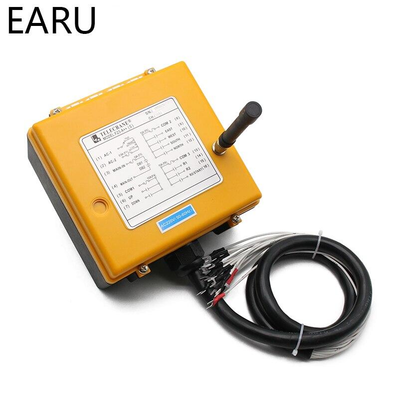 220VAC 12V 24V 36V 380V sans fil grue télécommande F23 A + + S industrielle télécommande grue bouton poussoir commutateur - 3