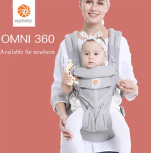 Egobaby Carrier Omni 360 All Carry Positions Baby Sling with Cool Air Mesh Cotton four seasons for mother father parents