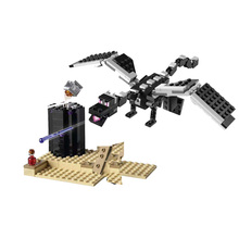 2019 New The End Battle Toys Compatible Legoines Minecraftedines 21151 Building Blocks Toys for Child Sets Classic Movie Gift building blocks the best gift for child