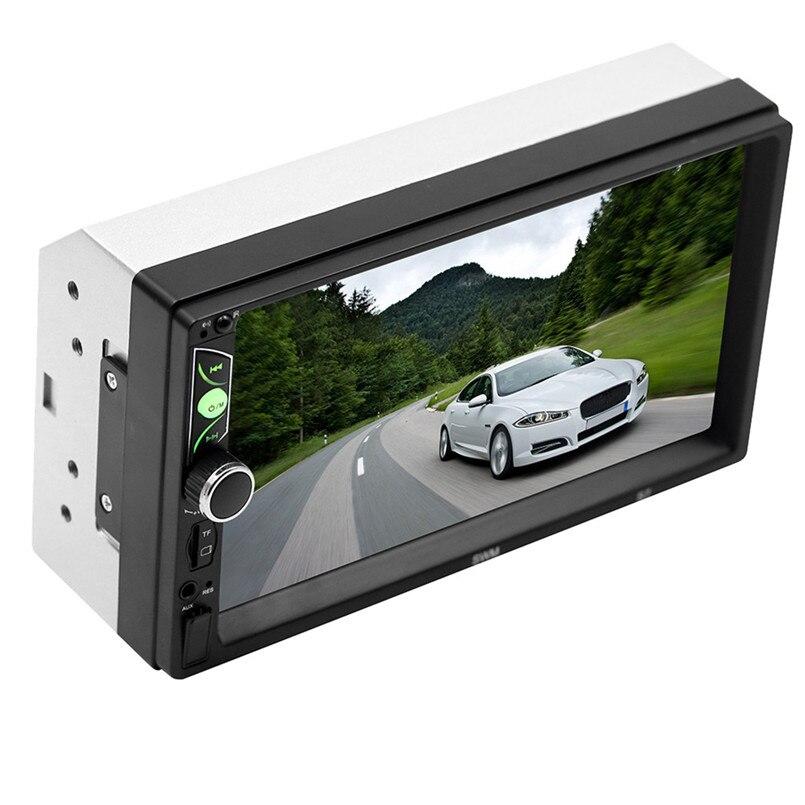 SWM-S7 7 Inch HD Touc-h Big Screen Car BT MP5 Player Car MP3 Card Machine FM With CD Player DVD 50AUG1224