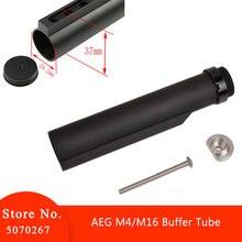 Tube de Stock Airsoft 6 positions pour Tube tampon Airsoft AEG M4/M16 avec boulon de fixation accessoires de chasse