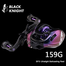BLACK KNIGHT Ultralight BFS Reel Baitcasting Reel 7.1:1 MAX Braking 6kg Baitcaster 159g Fishing Coil For Bass Pike Trout Perch