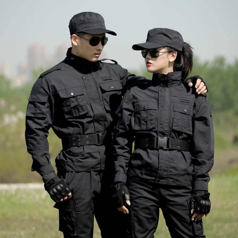 Outdoor Black Training  Men  Wear Army Clothes For Men  Mens Pants Fashions  Men Two Piece Set