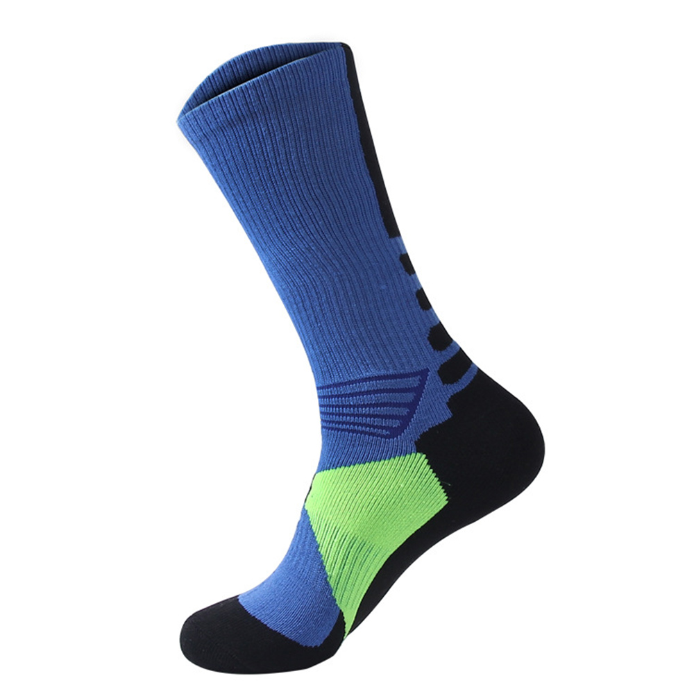 Cycling Socks Knee-High Professional Bicycle Compression Stocking Breathable Outdoor Sport Footwear Protect Running Socks BC0226 (2)
