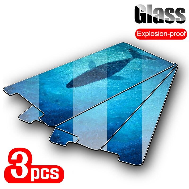 3PCS Screen Protector For Oukitel K8000 K6000 Plus K8 K6 Tempered Glass For Oukitel U7 U15 Pro U15s U16 Max U18 U20 Plus U23 K9(China)