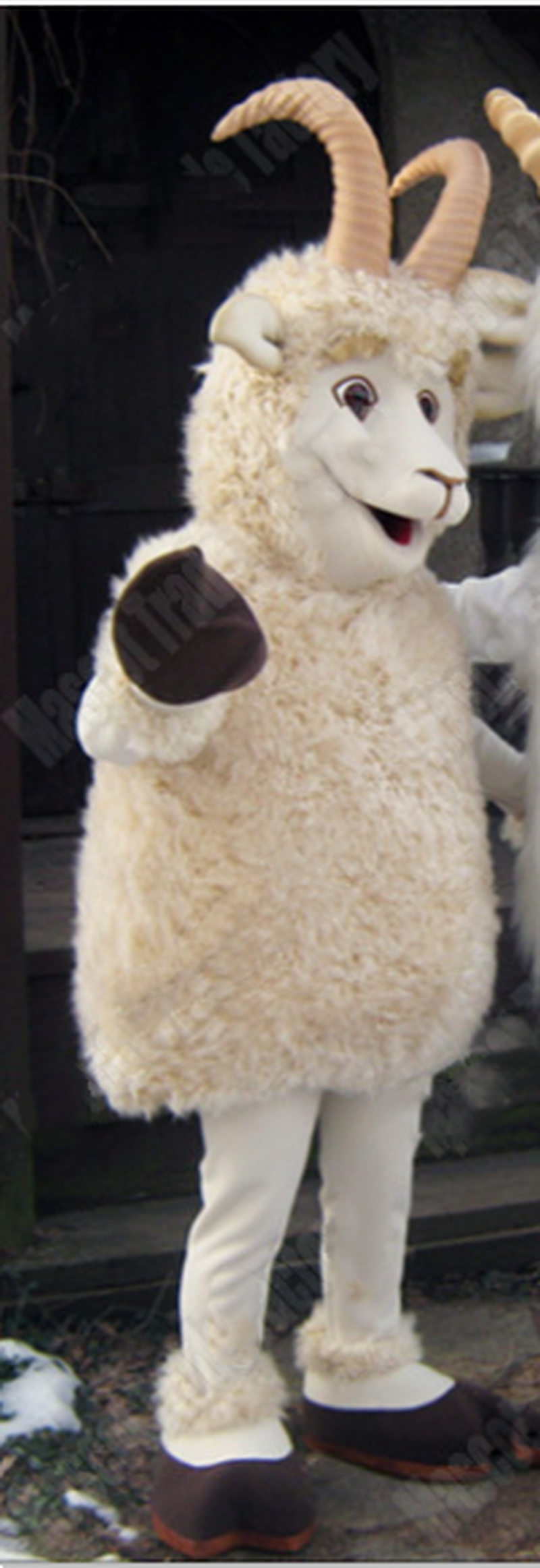 party supply Adult olome A Chic Sheep Dog Mascot Costume Cartoon  SUIT