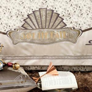 Image 5 - Svetanya Royal style Brocade Bedding Set king queen double size Bedlinen