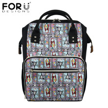 Backpack Multi-Function Mommy Gothic-Style FORUDESIGNS Women Fashion Nightmare Befor