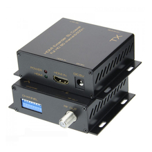 500m HDMI Extender By Coaxial To DVB-T Modulator Digital TV Receiver Converter Transmitter Receiver HDMI Splitter Matrix BNC RF original satlink ws 7990 4 route dvb t modulator av hdmi four router dm modulator dvb t av hd digital rf modulator